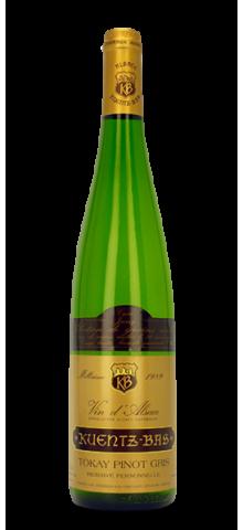Tokay Pinot Gris Cuvée Jérémy Sélection de Grains Nobles 1989