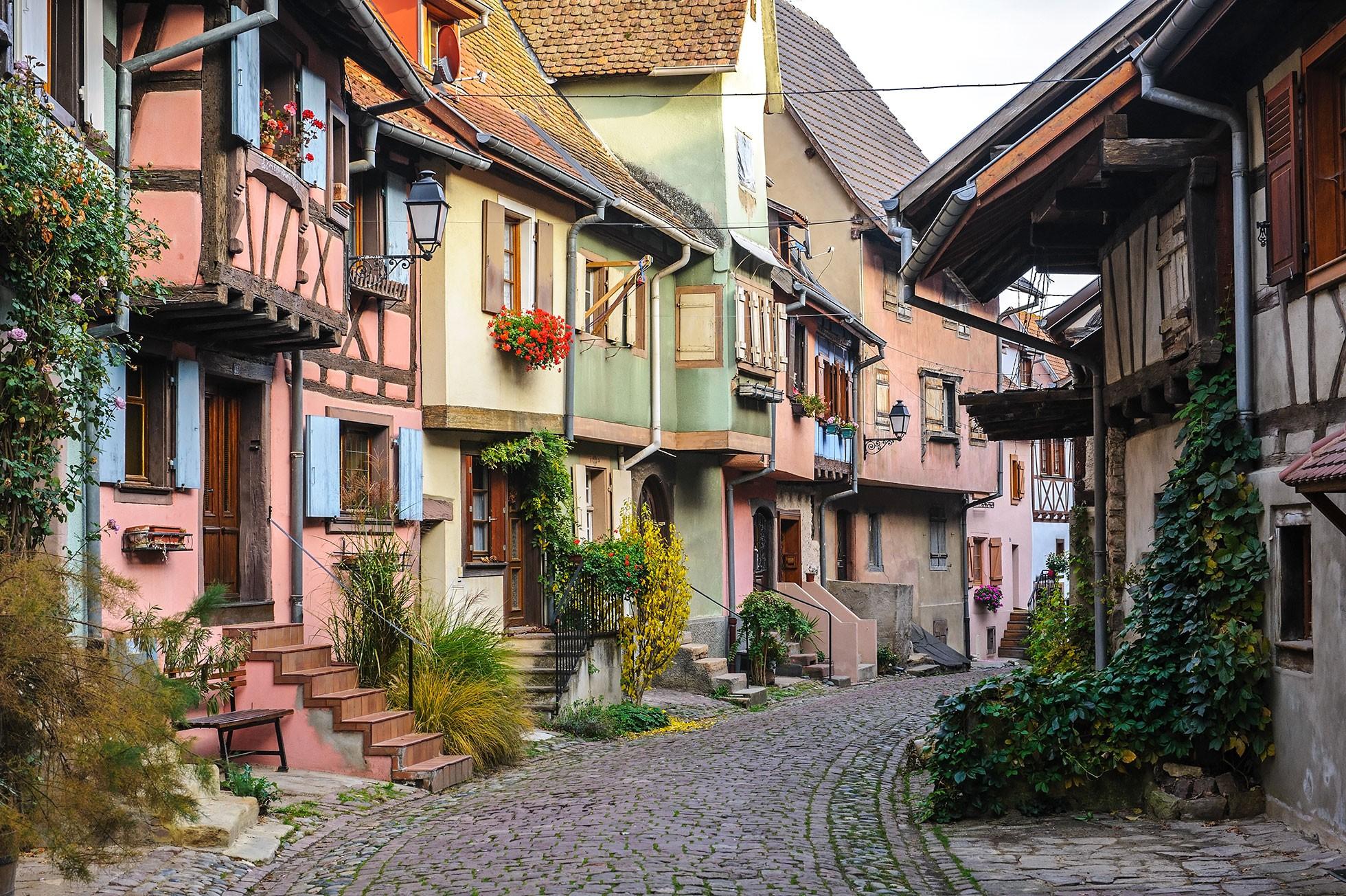 Tourisme et dégustation de vins à Eguisheim